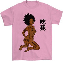 Load image into Gallery viewer, Eat Me Otaku T-Shirt by palm-treat.myshopify.com for sale online now - the latest Vaporwave & Soft Grunge Clothing