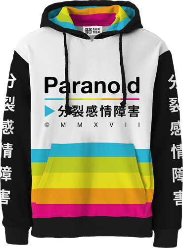 Paranoid All Over Hoodie