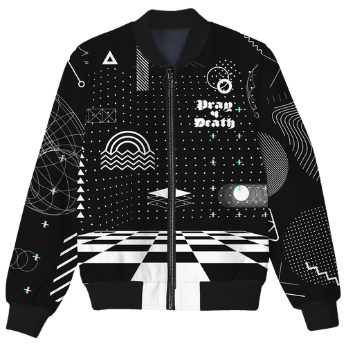 Pray 4 Death Bomber Jacket