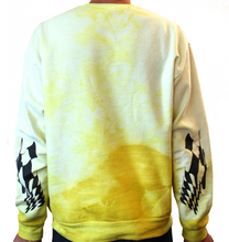 Load image into Gallery viewer, Death Race Yellow Marbled Medium Jumper