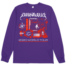 Load image into Gallery viewer, Coronavirus World Tour 2020 L/S Tee