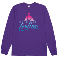Load image into Gallery viewer, Illuminati Online L/S Tee