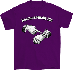 Boomers Finally Die Nihilist T-Shirt
