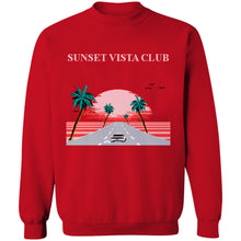 Load image into Gallery viewer, Sunset Vista Club Crewneck Sweatshirt