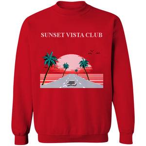 Sunset Vista Club Crewneck Sweatshirt