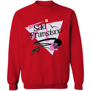 Sad Fransisco Crewneck Sweatshirt