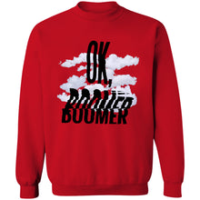 Load image into Gallery viewer, Ok Boomer Crewneck Sweatshirt