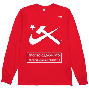 Aesthetic Hammer and Sickle L/S Tee