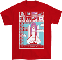 Load image into Gallery viewer, We're All Gonna Die 8-Bit T-Shirt