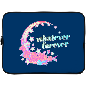 Whatever Forever Laptop Sleeve - 15 Inch by palm-treat.myshopify.com for sale online now - the latest Vaporwave & Soft Grunge Clothing