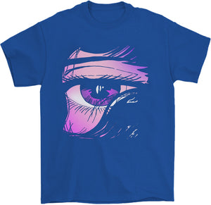 Animeno-me T-Shirt by palm-treat.myshopify.com for sale online now - the latest Vaporwave & Soft Grunge Clothing