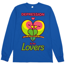 Load image into Gallery viewer, Depression is for Lovers L/S Tee