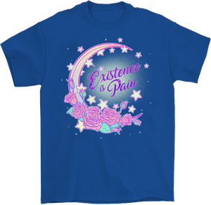Existence is Pain Moon T-Shirt