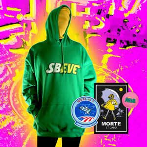 Sbeve Hoodie - 3XL by palm-treat.myshopify.com for sale online now - the latest Vaporwave & Soft Grunge Clothing