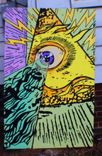 "Load image into Gallery viewer, ""All-Seeing Eye"" 36"" x 56"" Painting"