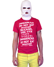 Load image into Gallery viewer, Do Not Eat Silica Gel T-Shirt by palm-treat.myshopify.com for sale online now - the latest Vaporwave & Soft Grunge Clothing