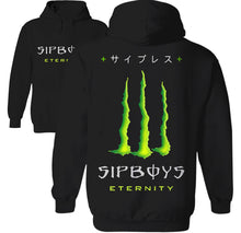 Load image into Gallery viewer, sipbois monster meme hoodie
