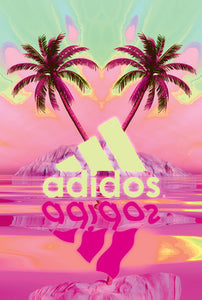 Vaporwave posters for sale by Palm Treat artists Jeff Nolan and Marie Nolan