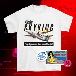 Alaska Sky King T-Shirt - XL