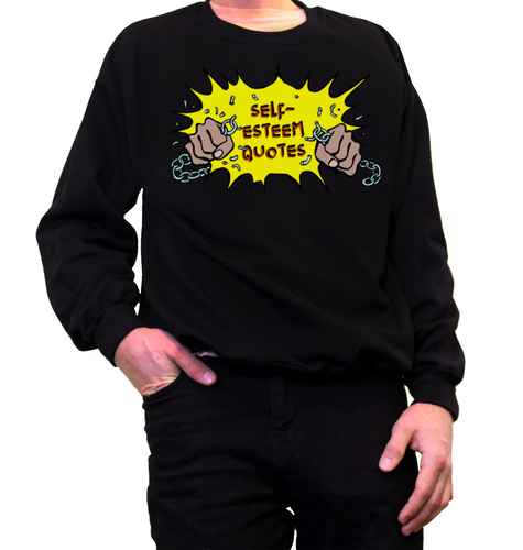 Self Esteem Chain Crewneck Jumper