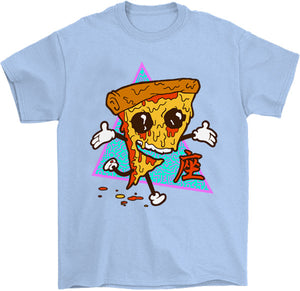 Pizza Steve T-Shirt by palm-treat.myshopify.com for sale online now - the latest Vaporwave & Soft Grunge Clothing
