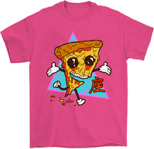 Load image into Gallery viewer, Pizza Steve T-Shirt by palm-treat.myshopify.com for sale online now - the latest Vaporwave & Soft Grunge Clothing