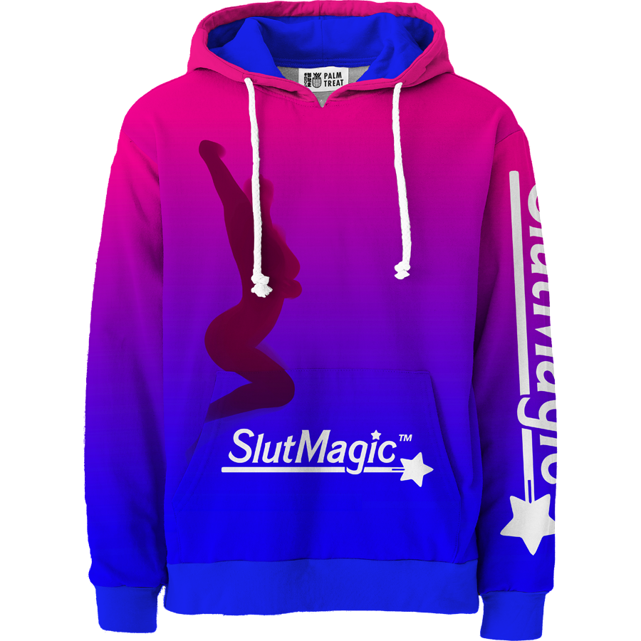 Gradient All Over Hoodie