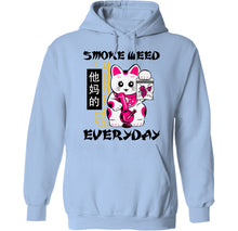 Load image into Gallery viewer, palm treat stoner cat japanese hoodie by palm treat
