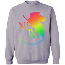 Load image into Gallery viewer, Eva Rainbow Crewneck Sweatshirt