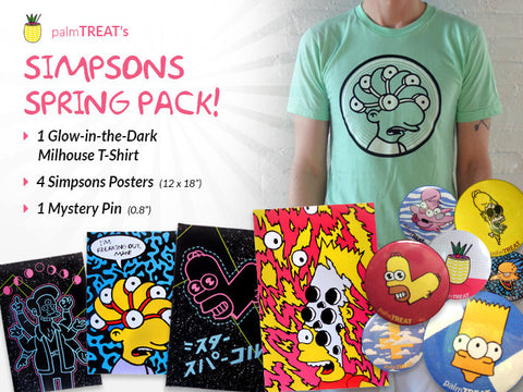 Simpsons Spring Pack!