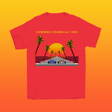 Load image into Gallery viewer, Summer Formula 1989 8-bit Stories Collection T-shirt