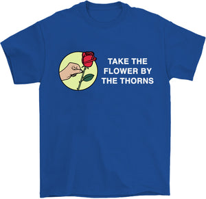 take the bull by the horns fox news flower shirt