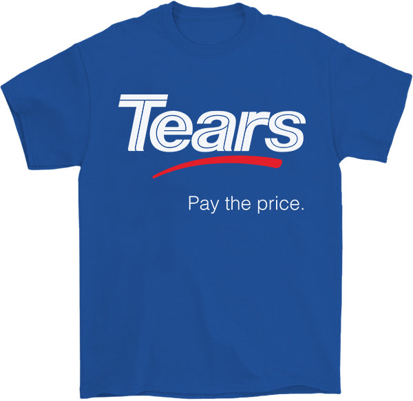 Tears for Sears: Pay the Price bankruptcy T-Shirt by Palm Treat