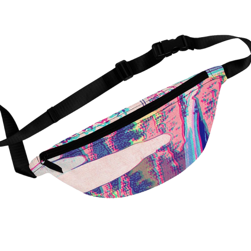 Technicolor Waterfall Waist Bag
