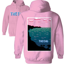 Load image into Gallery viewer, shark attack week retro 8 bit hoodie by palm treat