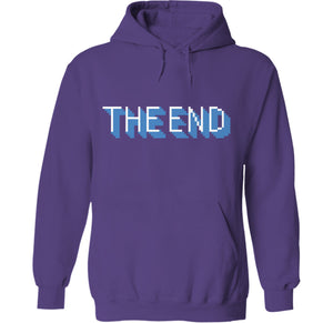 The End Hoodie by palm-treat.myshopify.com for sale online now - the latest Vaporwave & Soft Grunge Clothing