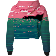 Load image into Gallery viewer, The End Crop Top Hoodie