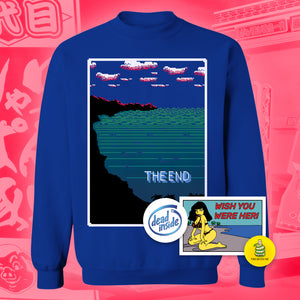 The End Crewneck Sweatshirt - Large