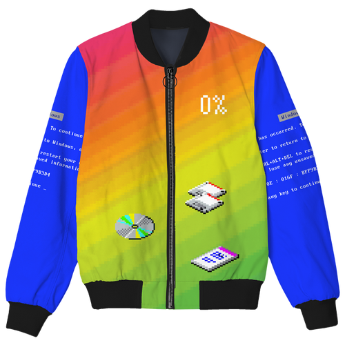 This Too Shall Pass Bomber Jacket
