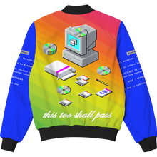 Load image into Gallery viewer, This Too Shall Pass Bomber Jacket