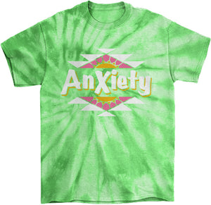 Anxiety Tie Die T-Shirt