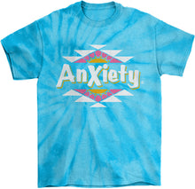 Load image into Gallery viewer, Anxiety Tie Die T-Shirt