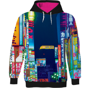 Tokyo All Over Hoodie