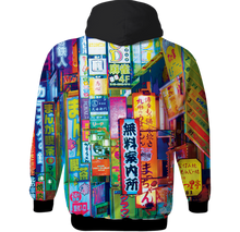 Load image into Gallery viewer, Tokyo All Over Hoodie