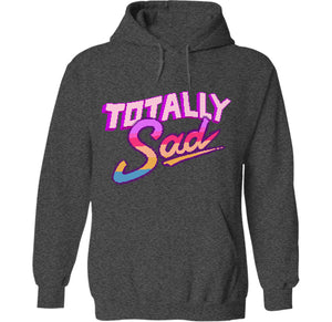 totally rad sad depressed space hoodie