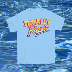 WEBM Totally Rad T-shirt by palm-treat.myshopify.com for sale online now - the latest Vaporwave & Soft Grunge Clothing
