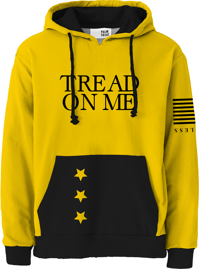 Tread on Me All Over Hoodie
