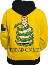 Load image into Gallery viewer, Tread on Me All Over Hoodie