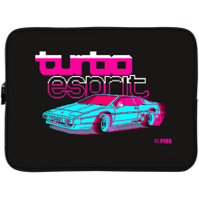 Load image into Gallery viewer, Retro neon car collector's laptop case and sleeve
