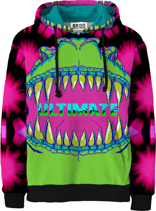 Ultimate T-Rex All Over Hoodie